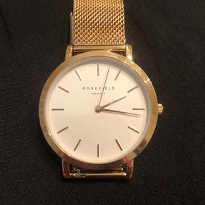 Rosefield Ams/NYC TRIBECA RoseGold Watch